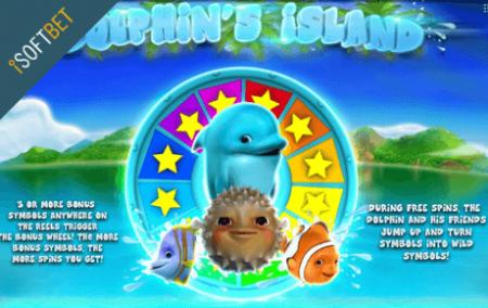 logo dolphins island